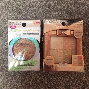 LOT OF 2* Physician Formula Butter Highlighters